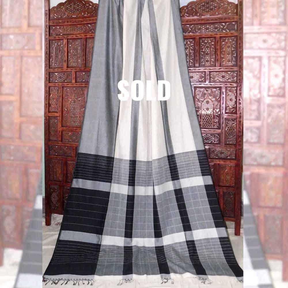 Mahapar Cotton Handloom Saree