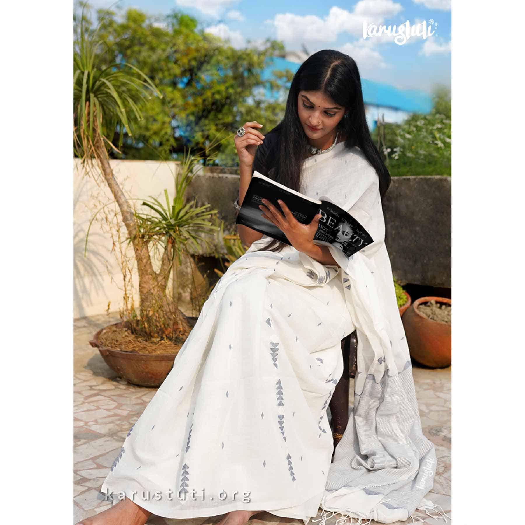 summer cotton handloom saree